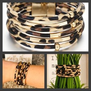 🎉HP!🎉LAST ONE! Leopard Multilayer Bracelet